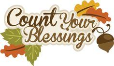 Blessings Clip Art.