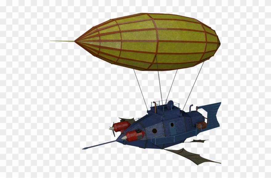 Airship Clipart (#1586016).