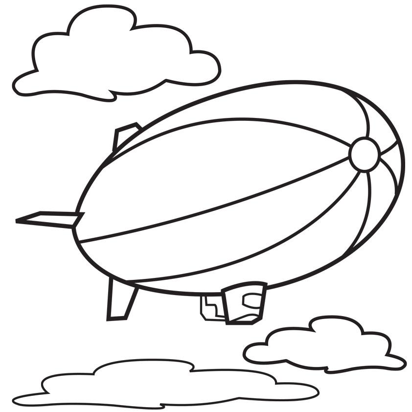 Cartoon Blimp.