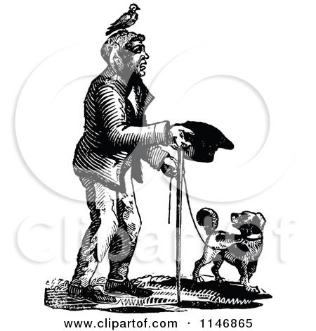 Blind Beggar Clipart.