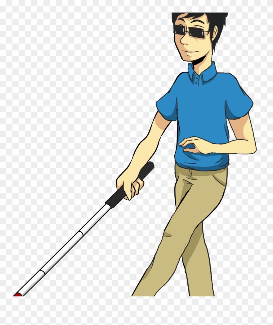Blind Guy Clip Art.