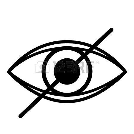 blind eye clipart #17