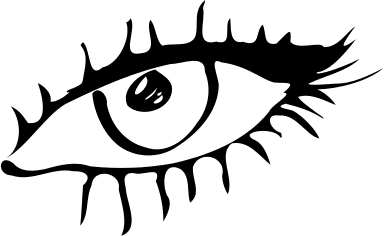 Eyes black and white eyes eye clip art black and white free.