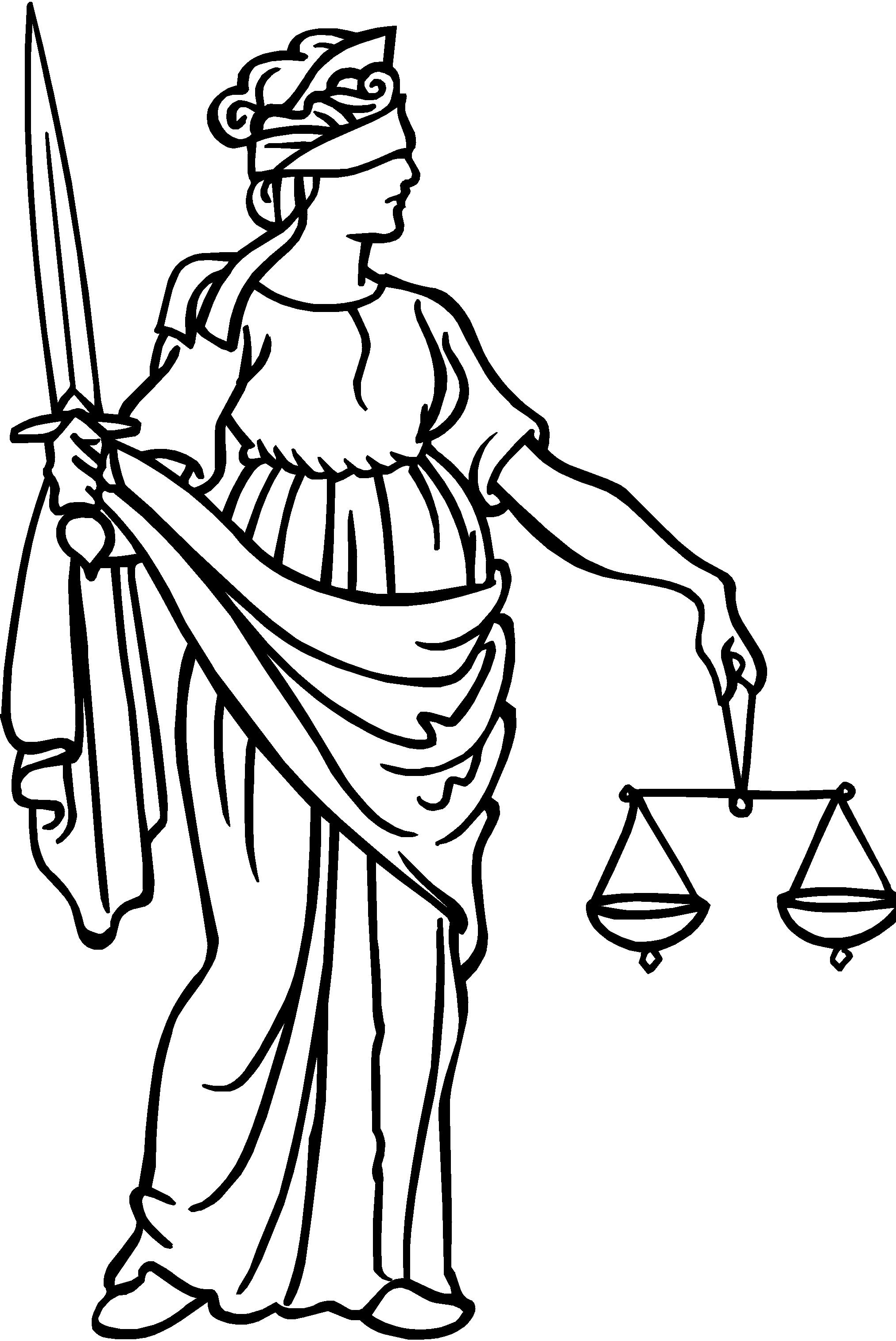 Blind justice clipart - Clipground