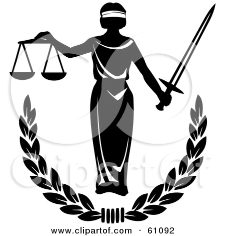 blind justice clipart clipground