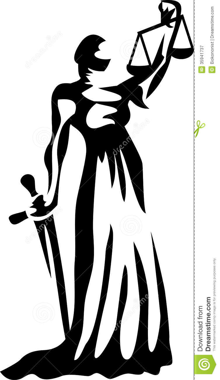 Lady Justice Clipart.