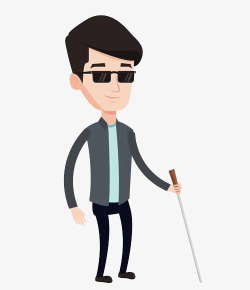 Blind person clipart 3 » Clipart Portal.