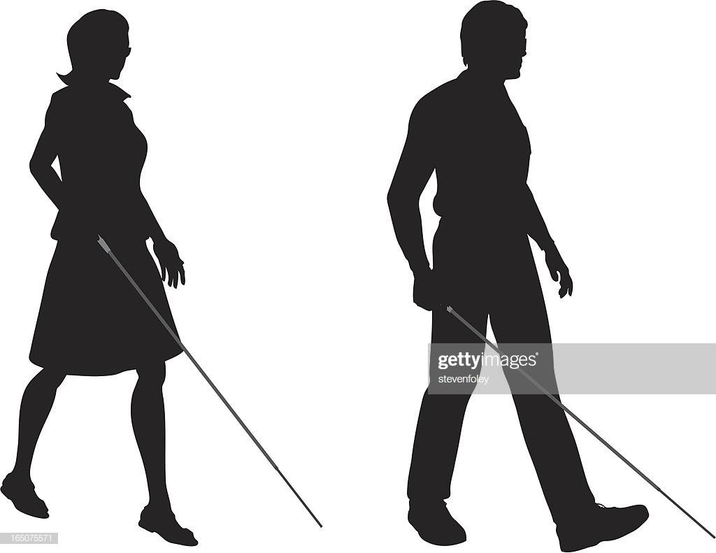 60 Top Blind Persons Cane Stock Illustrations, Clip art, Cartoons.