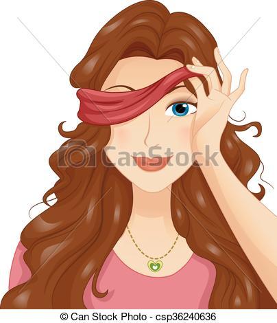 Blindfold Stock Illustrations. 977 Blindfold clip art images and.