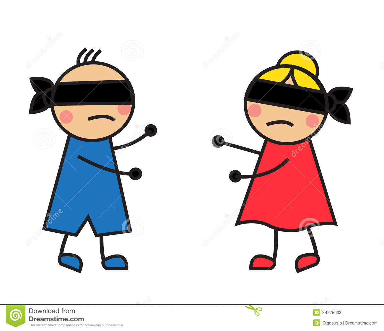 Blindfold Clipart.