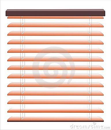 Window Blinds Stock Illustrations.