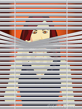 Window Blinds Clipart.