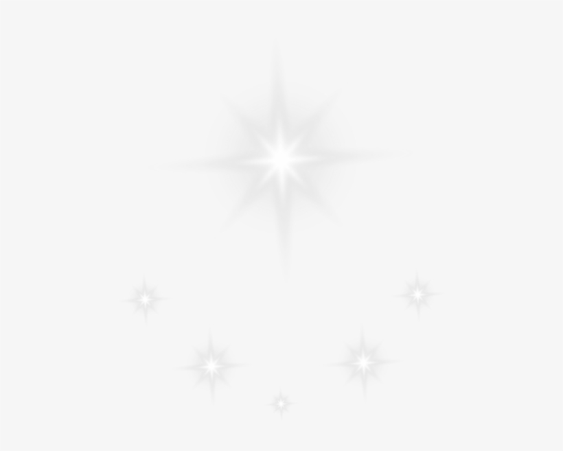 Shining Stars Effect Transparent Png Clip Art Image.