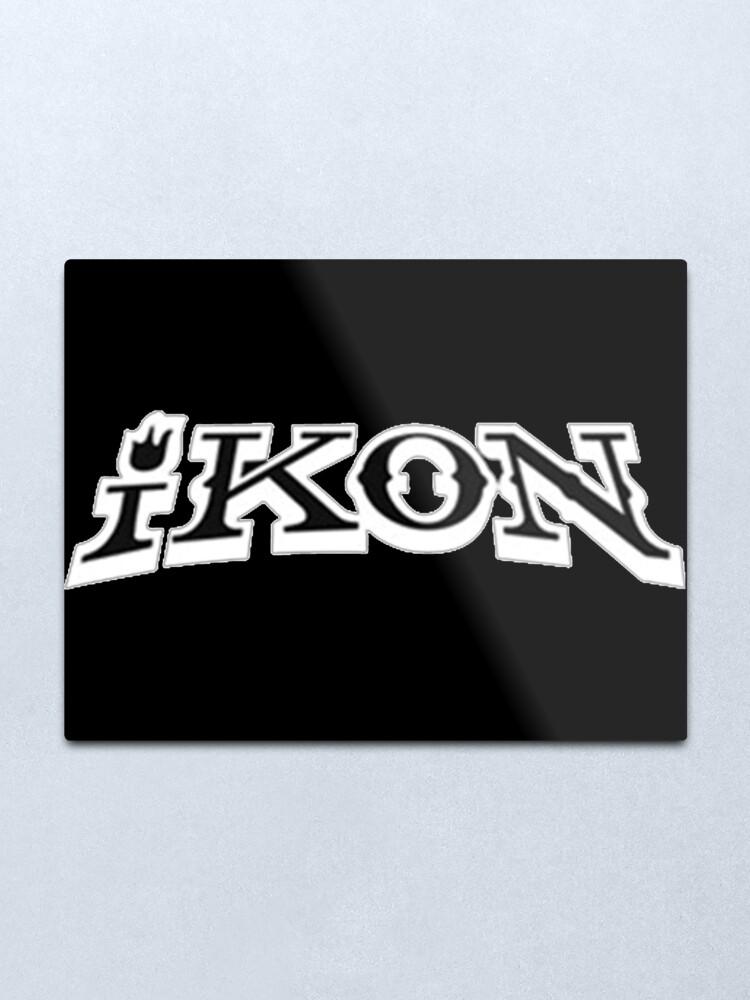 iKON Bling Bling Logo.