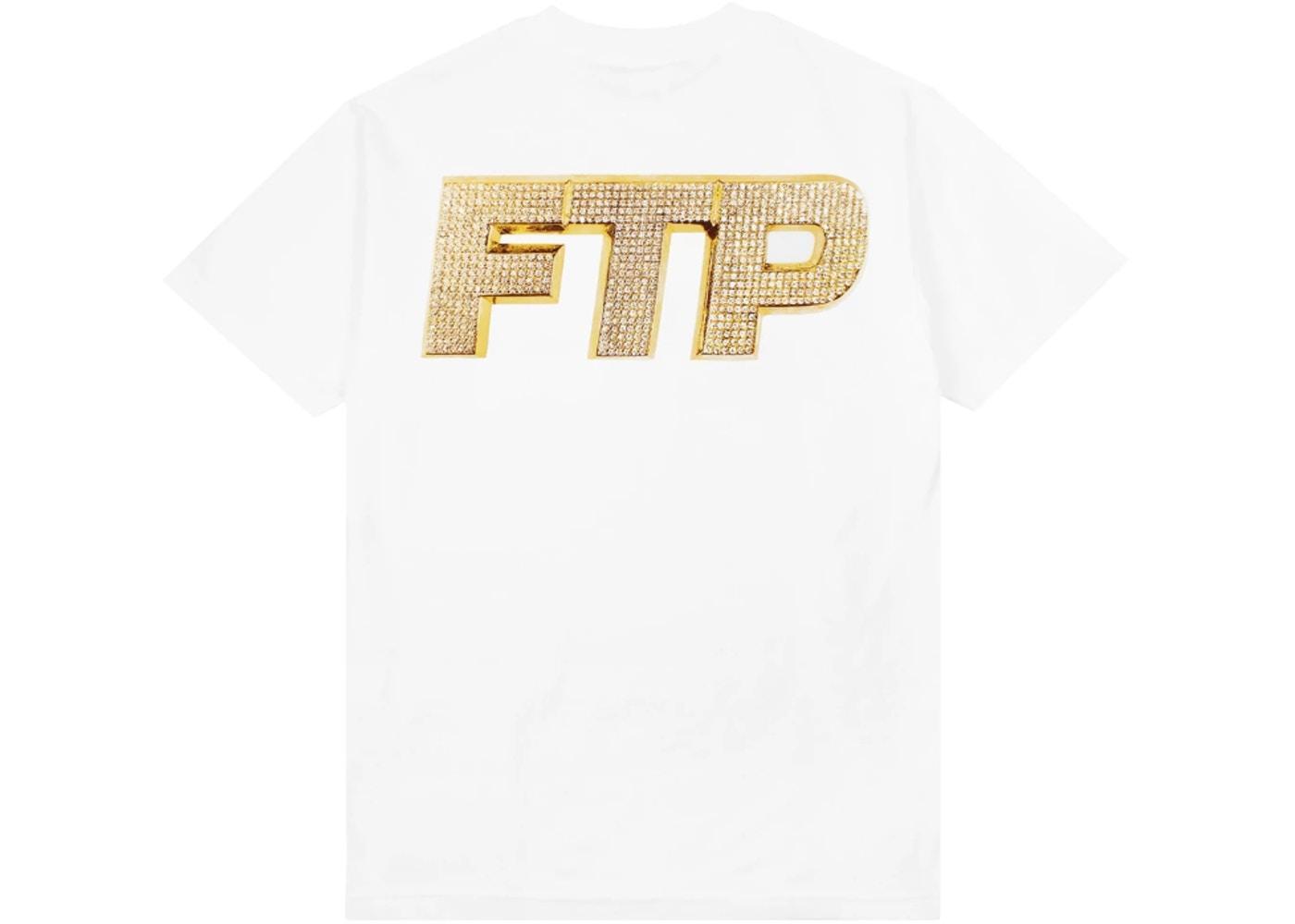 FTP Bling Logo Tee White.