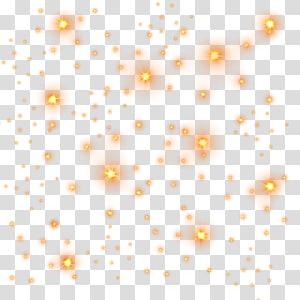 Starlight Lighting, Highlights stars light effect, white blink.