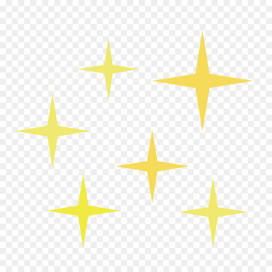 Yellow Star png download.