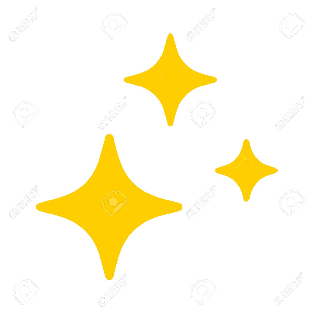 Star Blink icon Vector.