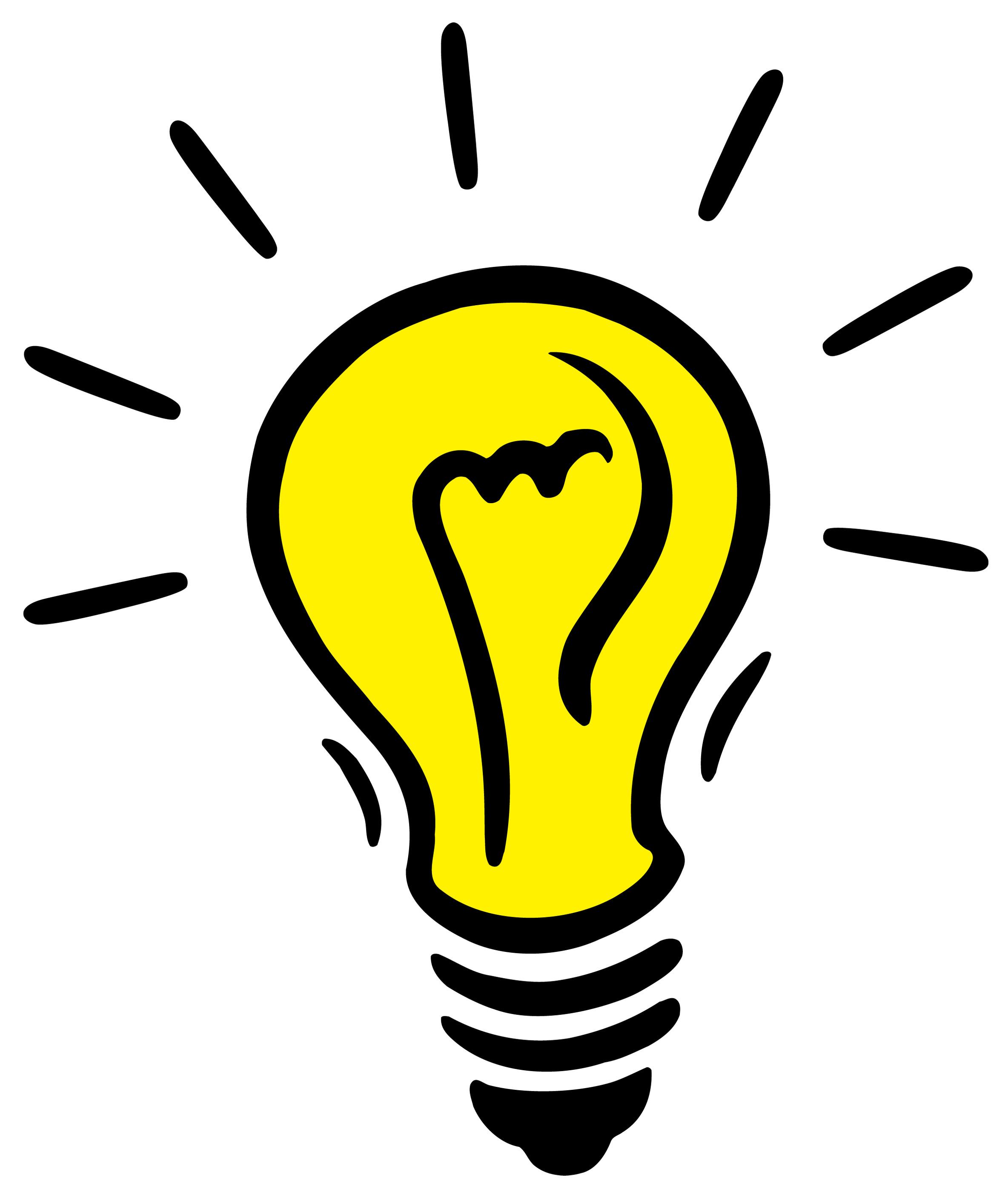 Flashing Light Bulb.