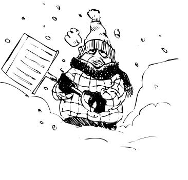 Blizzard Clipart.