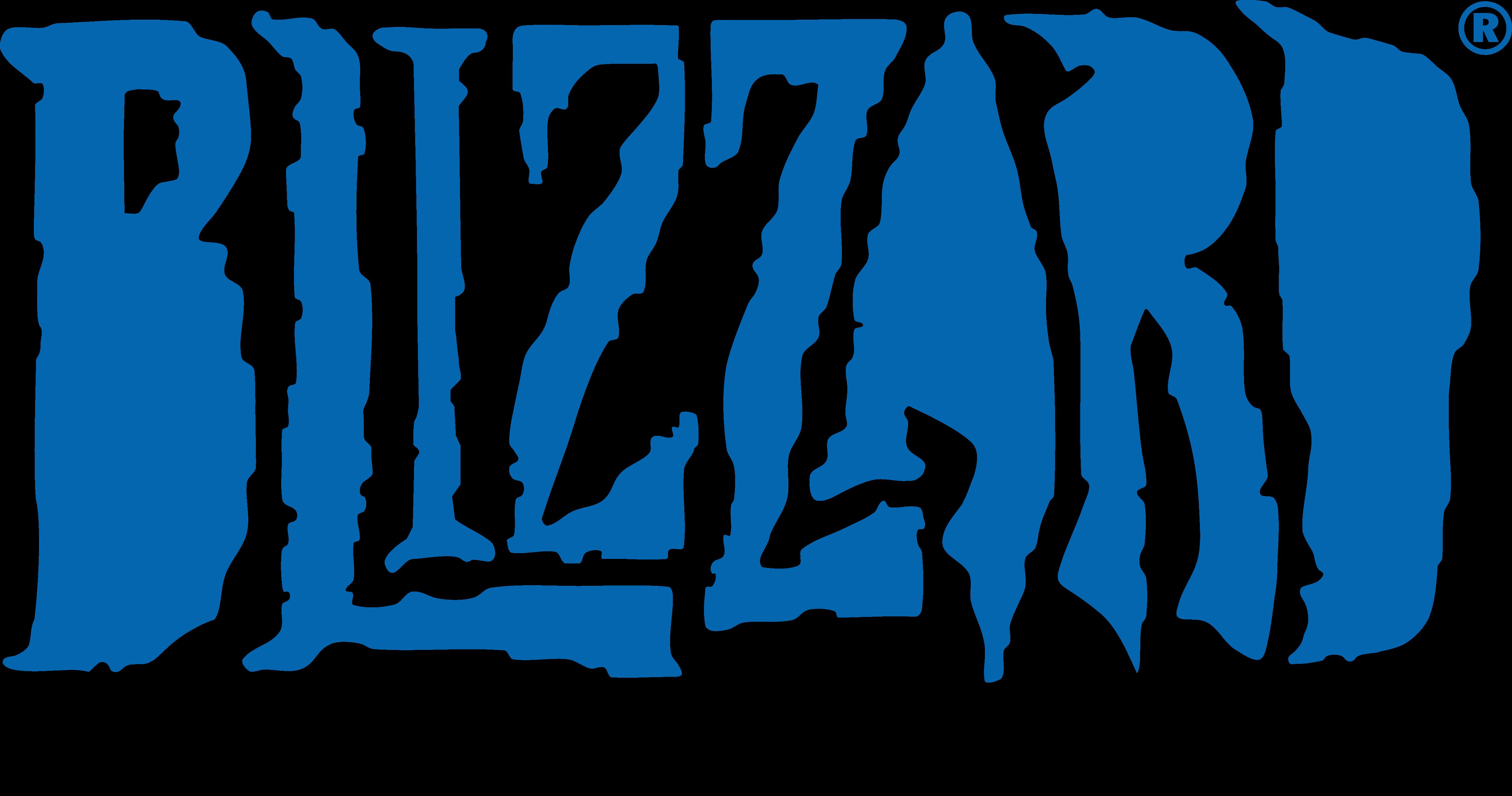 Blizzard Entertainment Logo PNG Image.