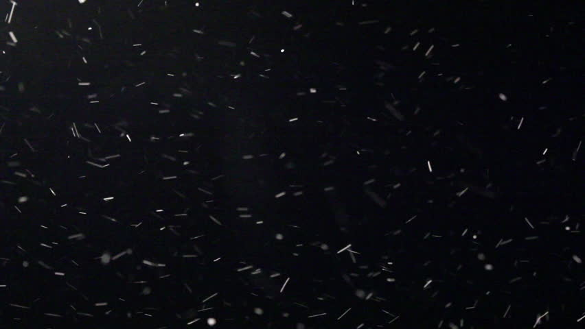 Snow Blizzard Alpha Matte Stock Footage Video (100% Royalty.