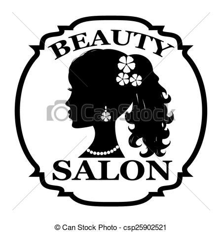 Salon de belleza clipart.