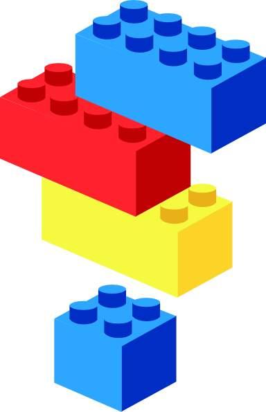 Clipart lego blocks.