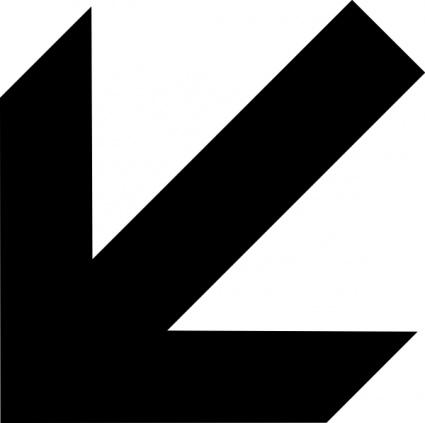 Clipart block arrows.