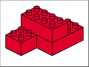 LEGO ClipArt, Building Blocks, FREE CLIPART, Red Block, Clip Art for.