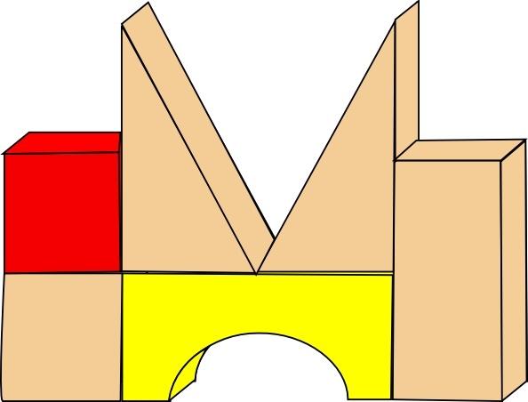 Unit Blocks clip art Free vector in Open office drawing svg ( .svg.