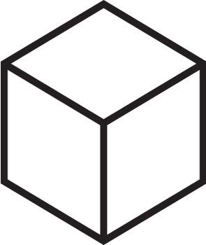 Isometric MAB block / base 10 blocks clip art.