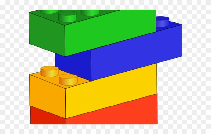 Lego Building Blocks Clipart.