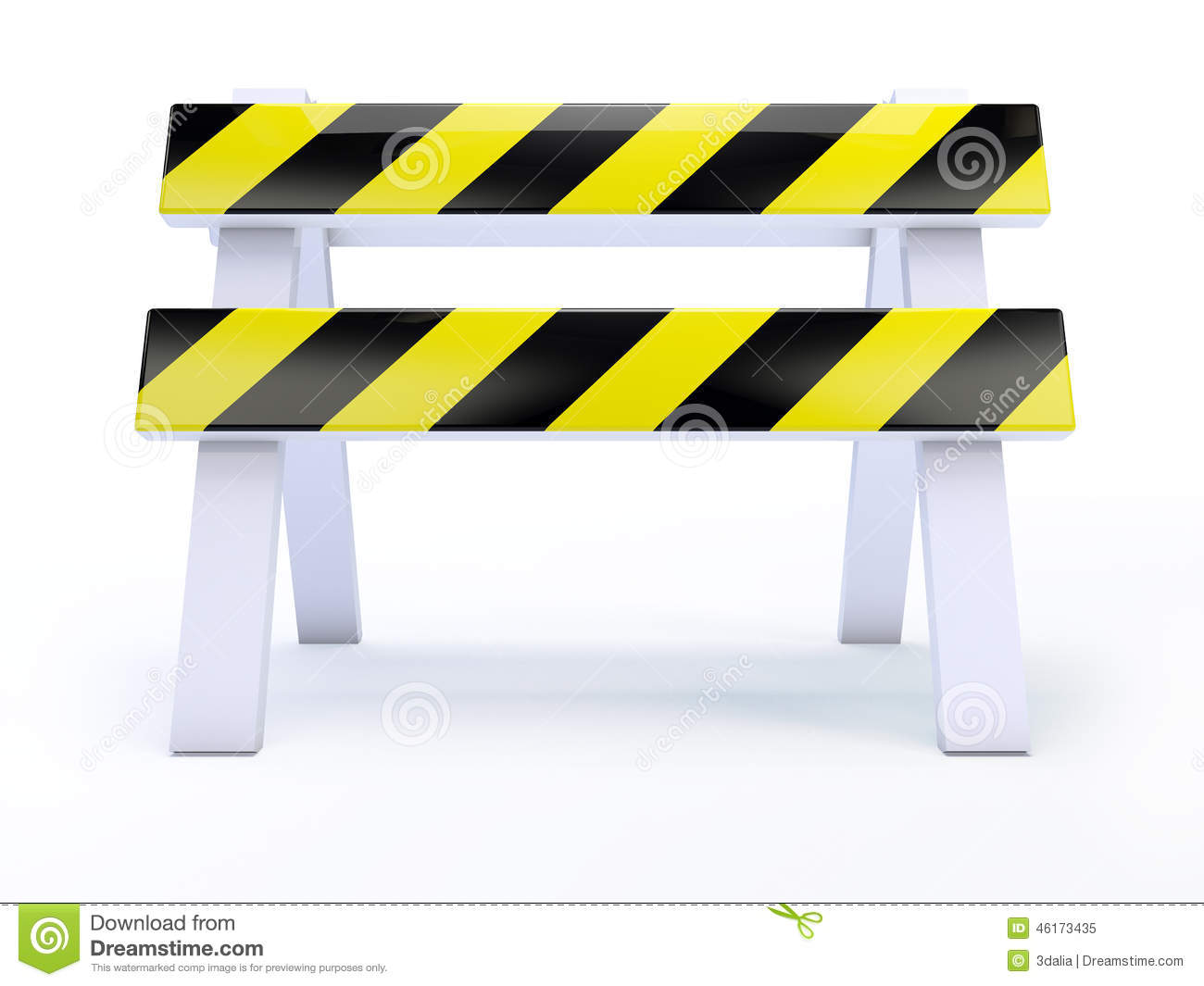 Construction road block clipart no background.