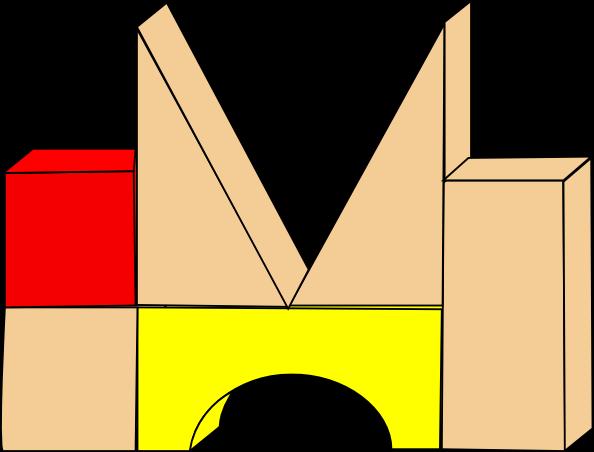 Block Area Clipart.