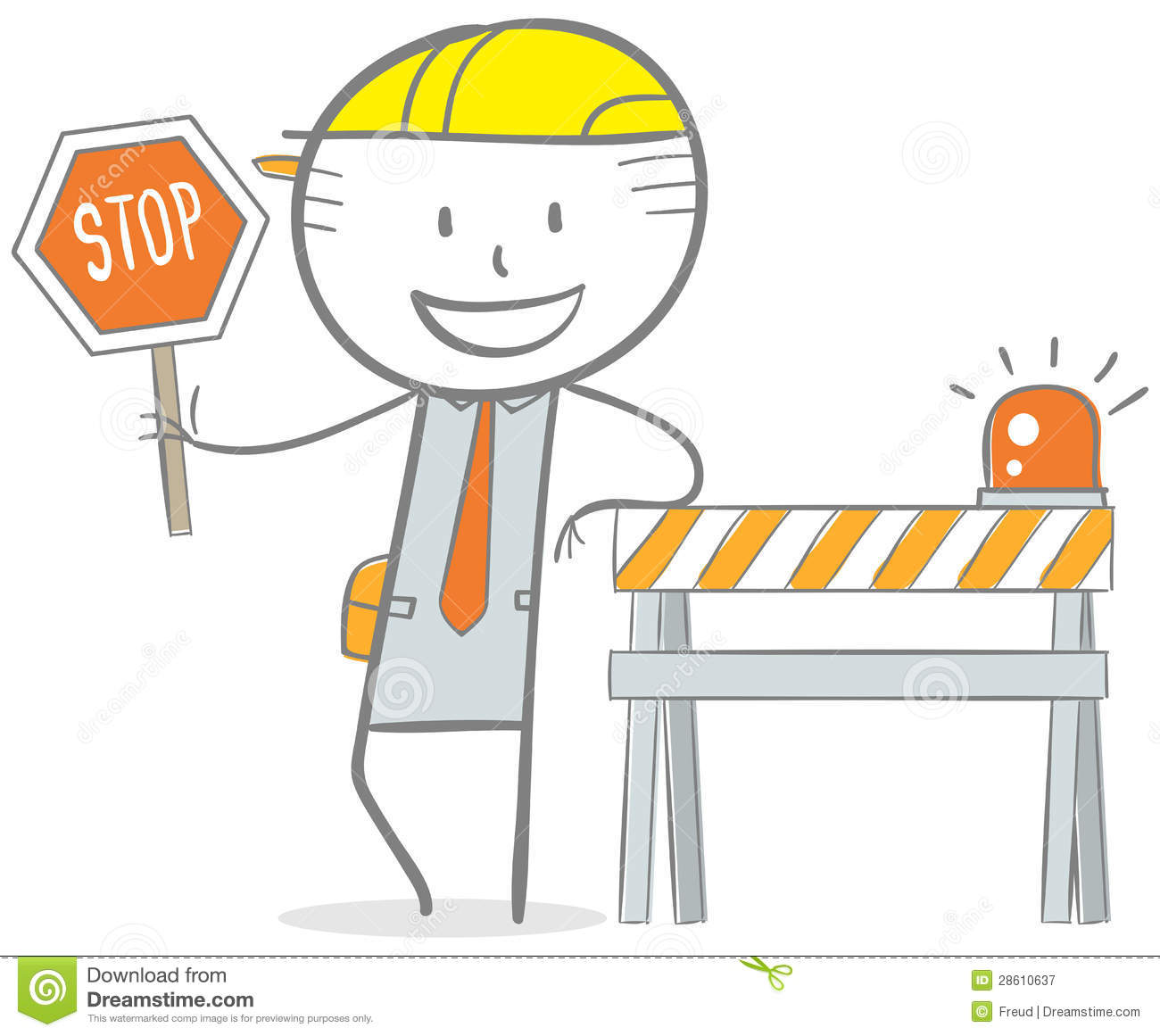Under Construction Royalty Free Stock Photography.