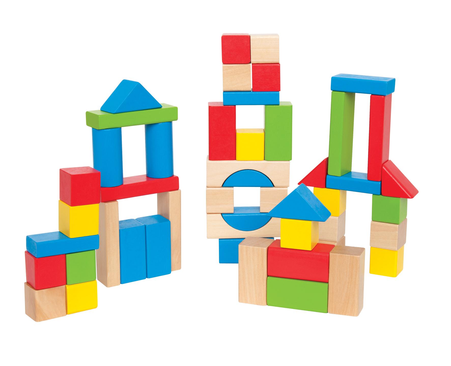 Wooden Blocks Clipart.