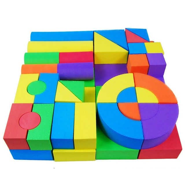 Aliexpress.com : Buy 50 PCS Baby Colorful Blocks Matching Sorting.