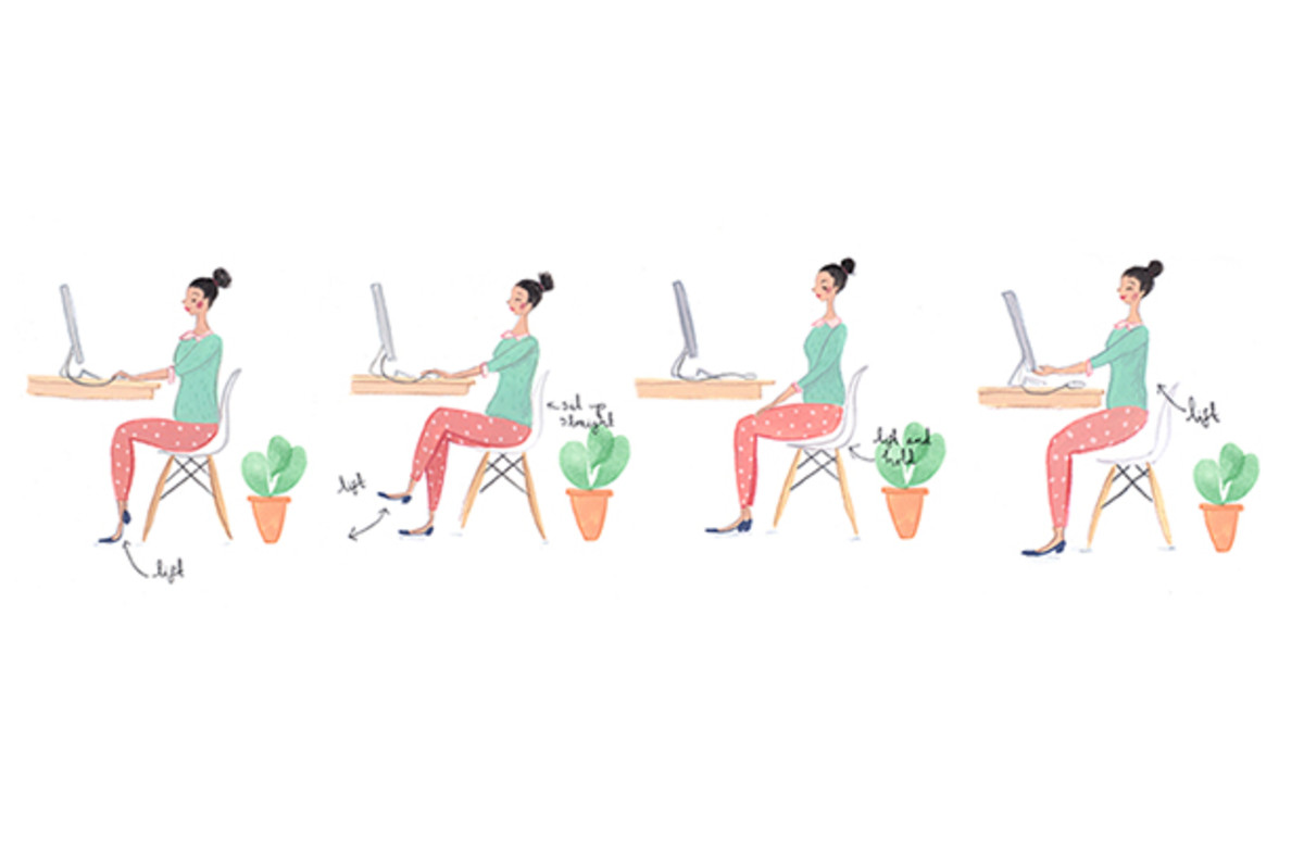 Easy Ways to Transform Time In the Office Into a Quick Workout.