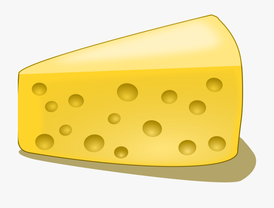 Piece Of Cheese Clipart.