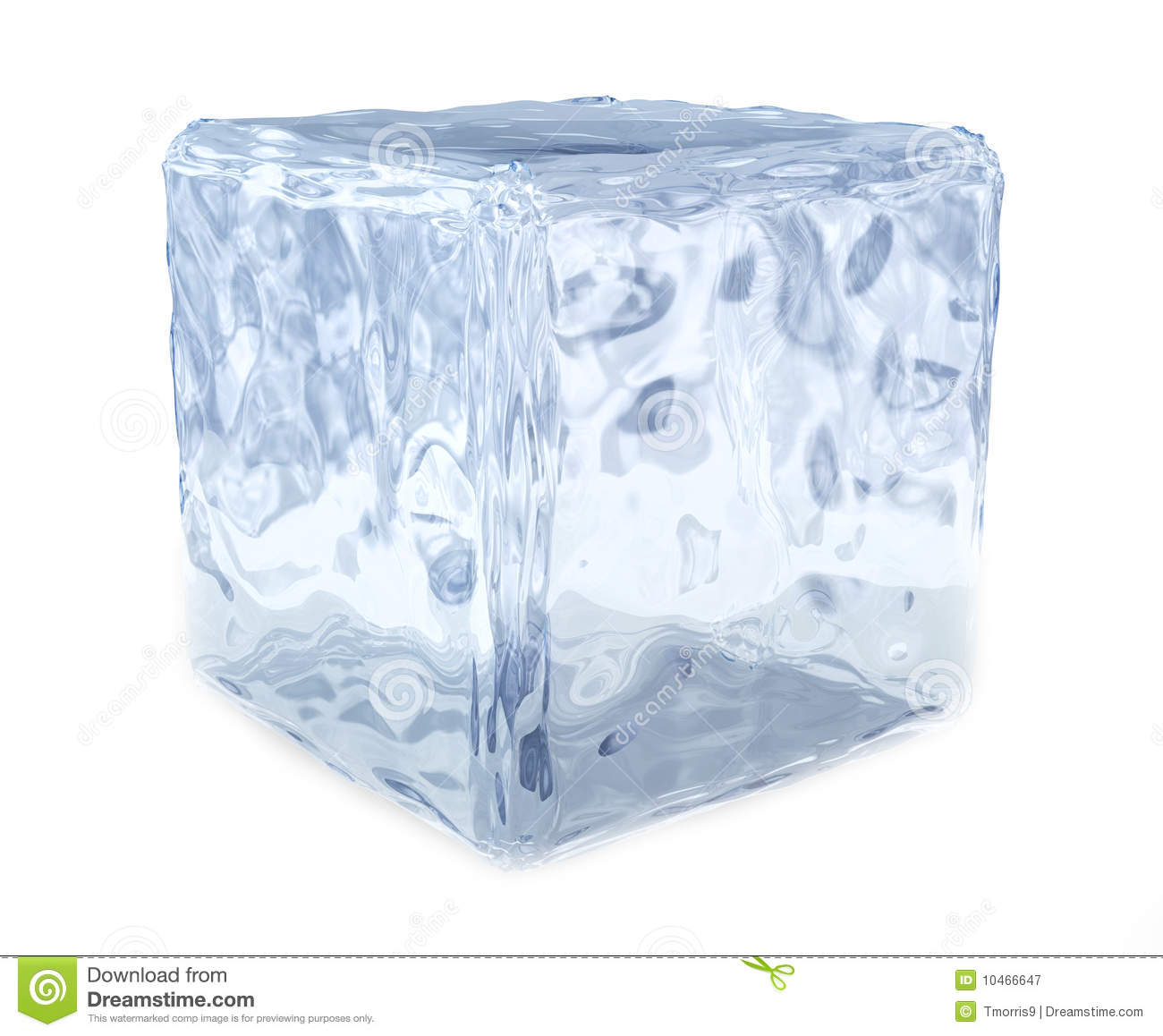 Block of Ice Clip Art.