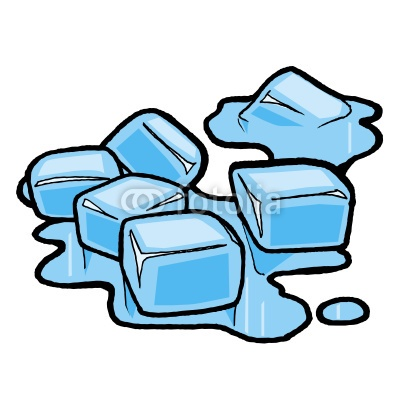 Block of ice clipart.
