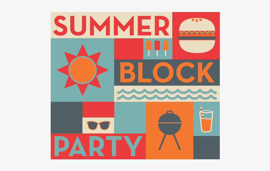 Join Us Saturday Clipart Church Block Party.
