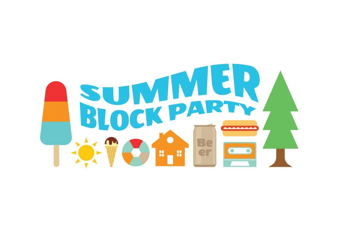 Block Party Summer Icons.