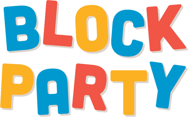 Come to our Block Party on Saturday!.