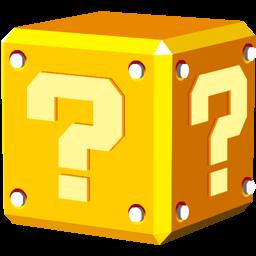Question Block Icon.