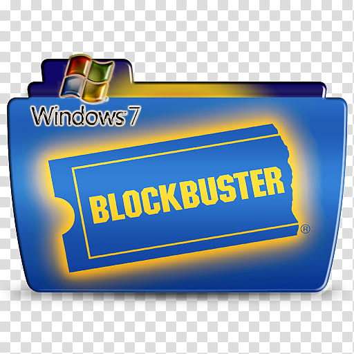 Blockbuster transparent background PNG clipart.