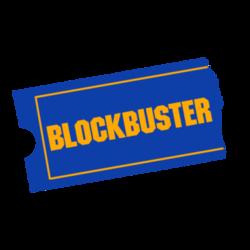 Blockbuster Logos.