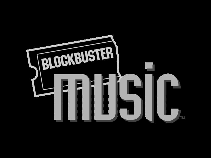 Blockbuster Music Logo PNG Transparent & SVG Vector.