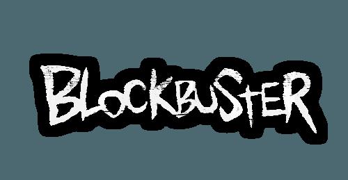 Black Blockbuster Logo.